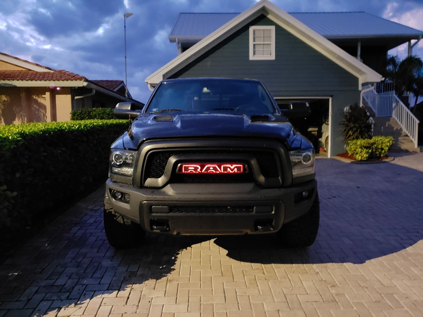 Custom Dodge Ram Led Backlit Grill Letters Harmon Customs